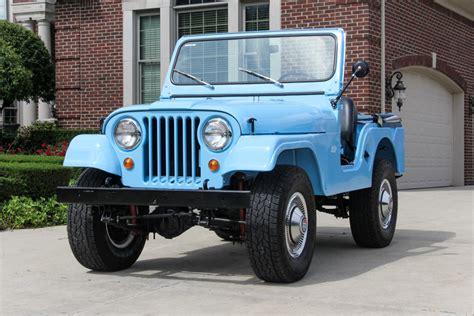 jeep light blue light blue 1960 jeep cj for sale mcg marketplace