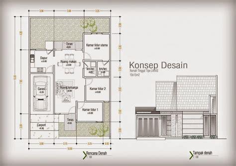 desain rumah minimalis    type  foto desain
