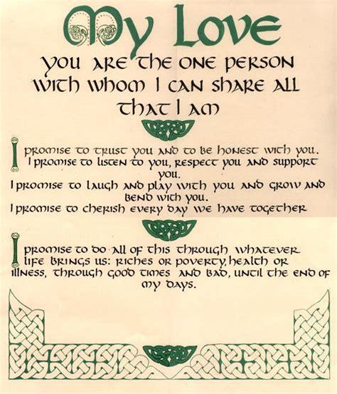 wedding certificates quaker   celticirish