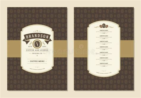 Ampersand was founded with the purpose of bringing the community together. Coffee Menu Design Template Flyer For Cafe With Coffee ...