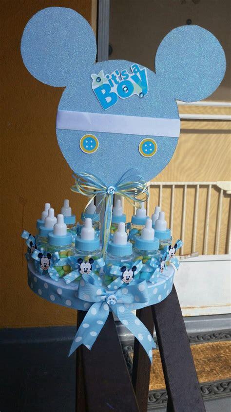 baby mickey mouse baby shower decorations inspirado de beb 233 mickey mouse centro de mesa de por
