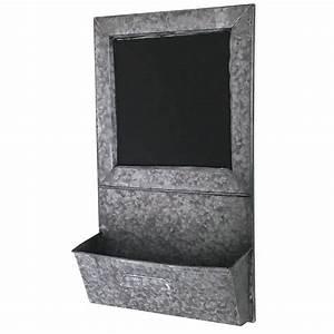 Tableau Ardoise Cuisine : tableau ardoise avec etag re de cuisine en zinc ebay ~ Teatrodelosmanantiales.com Idées de Décoration