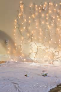 holiday lights photo backdrop tutorial plain vanilla mom