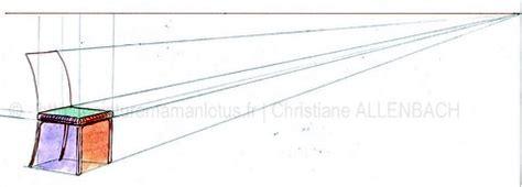 dessin de chaise en perspective dessiner un banc christiane allenbach