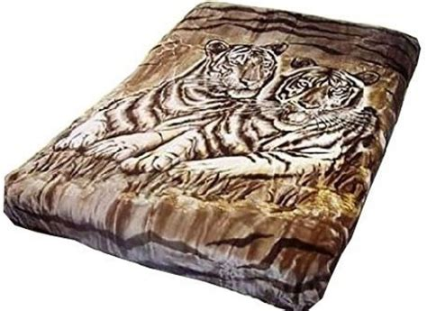 Solaron Korean Blanket Throw Thick Mink Plush King Size White Tiger Brown New Blankets Creek Trail Map Knitted Baby For Beginners Car Rugs How Do You Make A No Sew Blanket Paris Prince Jackson Cooling Fever Harley Davidson Fleece Recipe Pigs In Using Biscuits