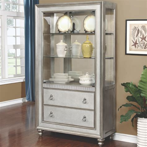 bling game curio cabinet   shelves   drawers