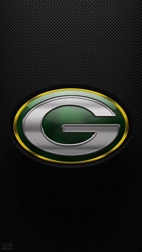 green bay packers wallpaper glass logo iphone