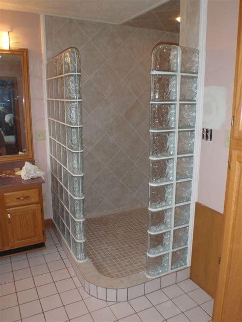 glass block shower enclosure bengworks flickr