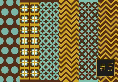 mid century pattern    vectors