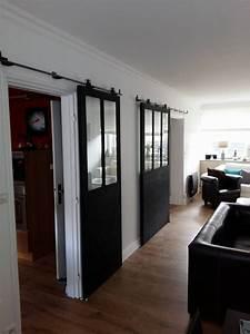 Porte De Placard Style Verriere : afficher l 39 image d 39 origine portes coulissantes agencement interieur am nagement ext rieur ~ Nature-et-papiers.com Idées de Décoration