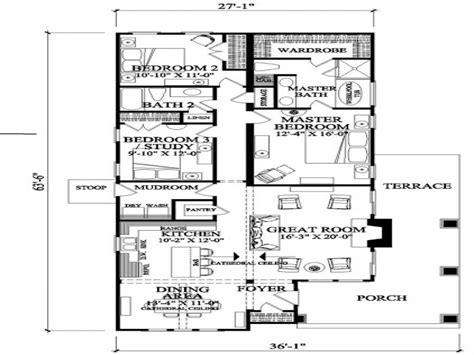 narrow lot house plans with rear garage craftsman house floor plans narrow lot craftsman house