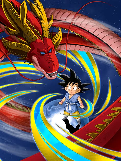 explorers premonition goku gt dragon ball  dokkan