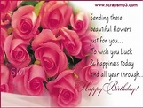 Sending These Beautiful Flowers Just For You – Happy ...