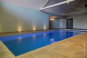 constructeur piscines intrieures morbihan vannes With pompe a chaleur maison 17 piscine interieure piscines magilines
