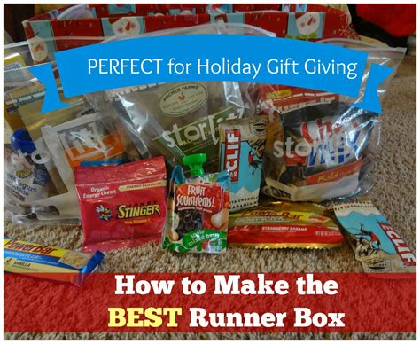 12 Gift Basket Ideas For Runners 1000 Images About