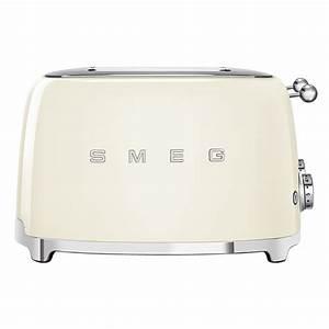 Smeg Toaster Creme : smeg tsf03cruk retro 4 slice toaster cream appliance city ~ A.2002-acura-tl-radio.info Haus und Dekorationen