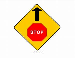Stop And Go : printable stop and go sign ~ Medecine-chirurgie-esthetiques.com Avis de Voitures