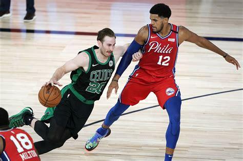 Boston Celtics vs. Philadelphia 76ers: Gordon Hayward ...