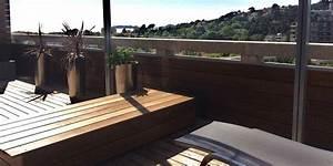 amenagement de terrasses dans un duplex marseille 13008 With materiaux exterieur de maison 13 agencement terrasse design marseille corniche