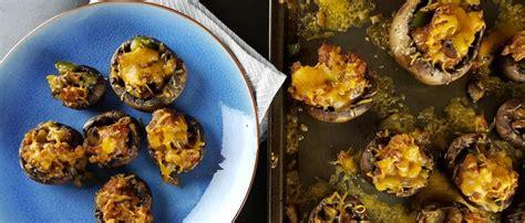 stuffed mushrooms  chorizo  cheese mexican food recipes cinco de mayo food stuffed