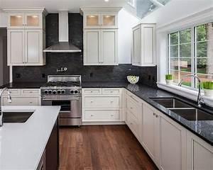 kitchen white cabinets black countertops 1499