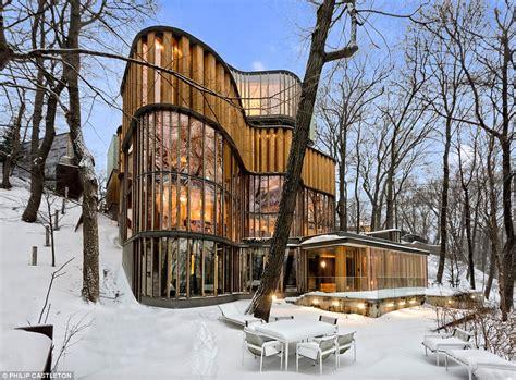 homes built into hillside toronto home doubles as concert venue designed by