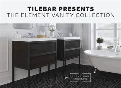 Tilebar Element Chameleon Vanity Concepts Reveals Industry