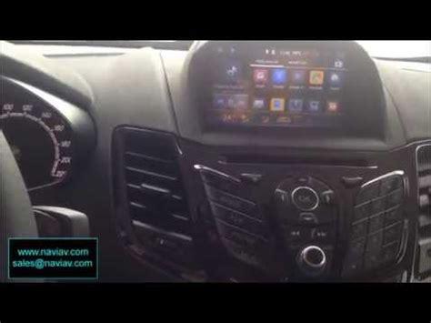 Ford Fiesta Android GPS naviav - YouTube