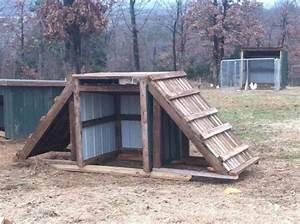 A goat playhouse. | Goats | Pinterest | A well, The roof ...
