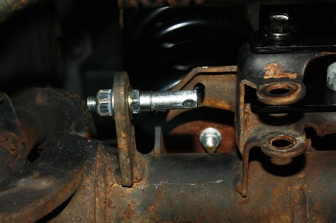 quick disconnect frt sway bar end links jeep jk