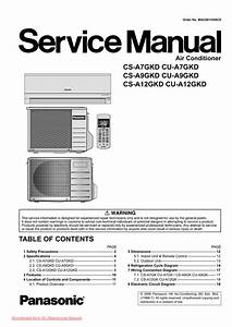 Panasonic Air Conditioner Installation Manual Pdf