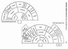 hd wallpapers seating chart template band