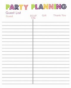 Best Photos of Guest List Print Out - Free Baby Shower ...