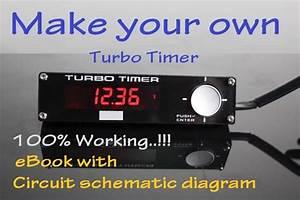 Turbo Timer - 12v  24v Circuit  Schematic Diagram  Diy Projec