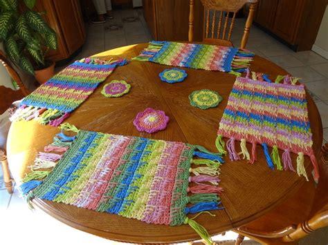 decoracion hogar crochet crochet hecho a mano invidividuales decoraciones de