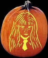 harry potter pumpkin carving templates - harry potter pumpkin template