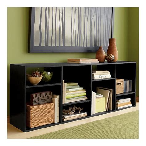 media console with bookcases the cuban in my coffee using a book case as a tv console