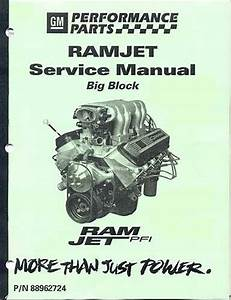 Manual Service  Ramjet 502 Engine   Gm Performance Motor