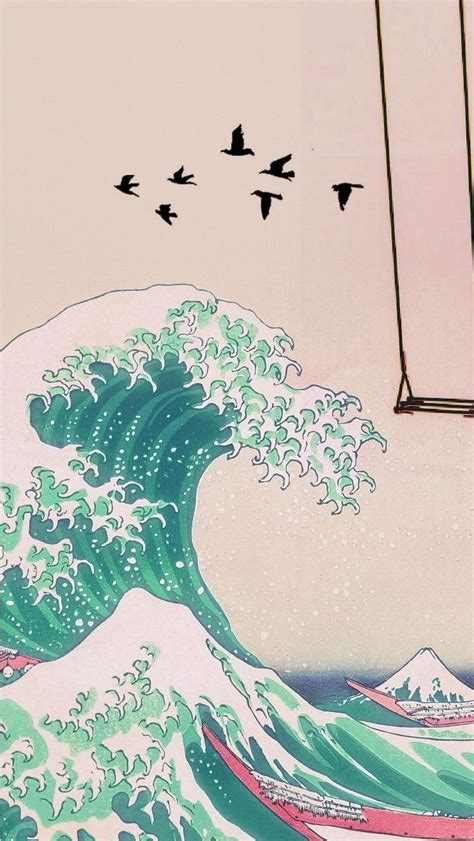 iphone wallpaper kpop waves wallpaper aesthetic iphone