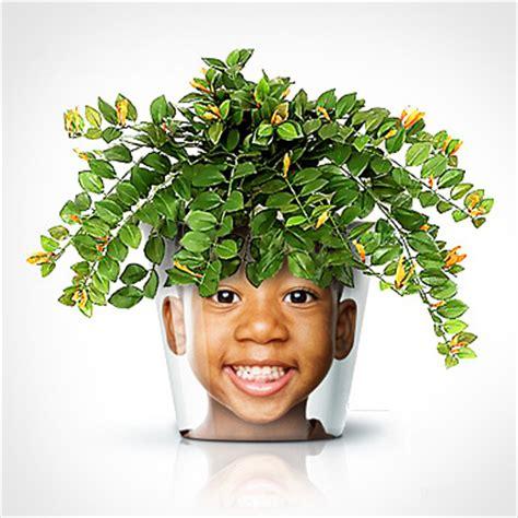 diy chambre bébé personnaliser des pots de fleurs avec vos photos idée