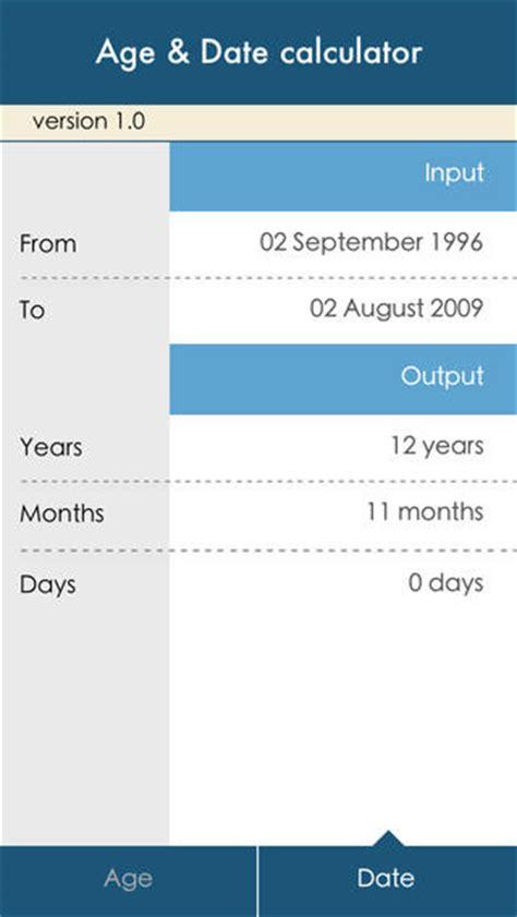age date calculator essential chronological