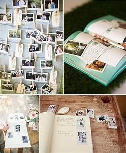 Album Photo Pour Polaroid : un livre d 39 or original l 39 option polaroid blog mariage organisation mariage originaux ~ Teatrodelosmanantiales.com Idées de Décoration