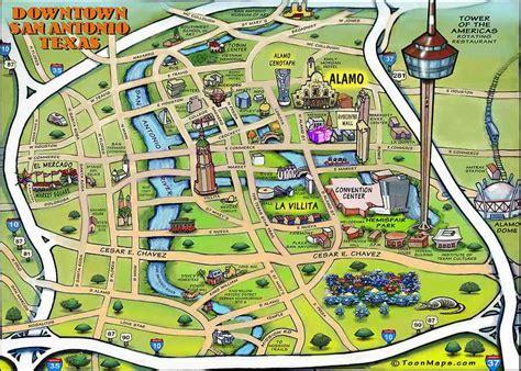 riverwalk san antonio map walking