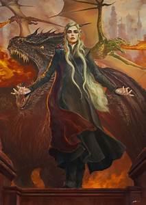 Resultado de imagen para daenerys dragons deviantart ...