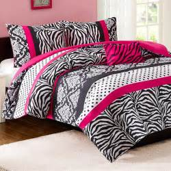 mizone reagan twin xl comforter set pink zebra free shipping
