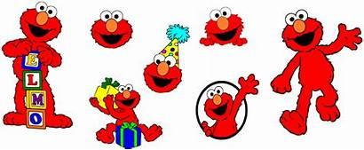 Elmo Sesame Street Svg Birthday Cricut Nook