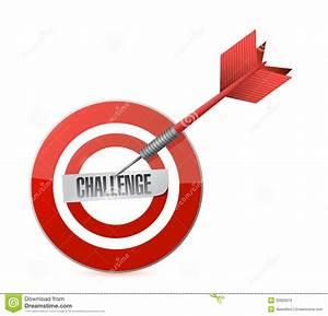 Challenge Target Dart Illustration Design Stock ...
