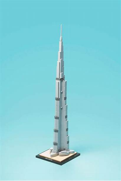 Khalifa Burj Tower Iconic Structures Deconstructed Trade