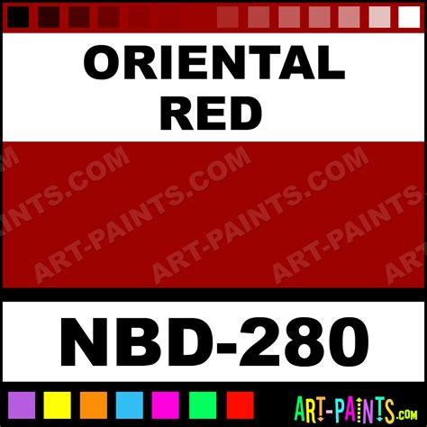 oriental red media body art body face paints nbd 280