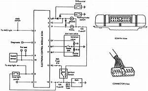 1995 Isuzu Trooper Brake Replacement System Diagram